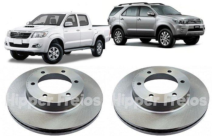 Disco Freio Dianteiro Toyota Hilux SW4 Aro 16 2002 a 2015