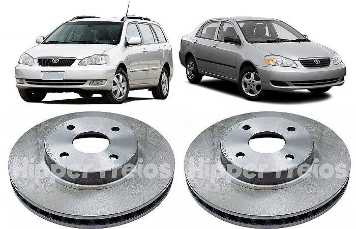 Disco Freio Dianteiro Corolla Fielder 1.6 18 16V 2003 a 2008