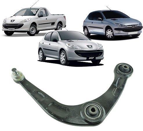 Bandeja Suspensão Dianteira Esquerda C/ Pivo Peugeot 206 207