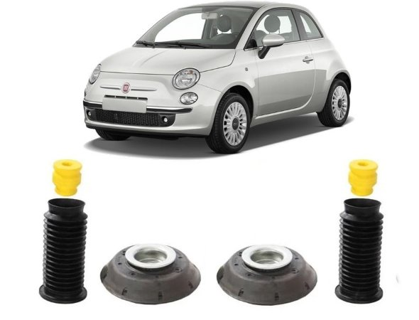 Kit Reparo Amortecedor Dianteir Fiat 500 2012 2013 2014 2015