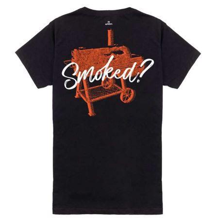 Camiseta Bárbaros Smoked Preta