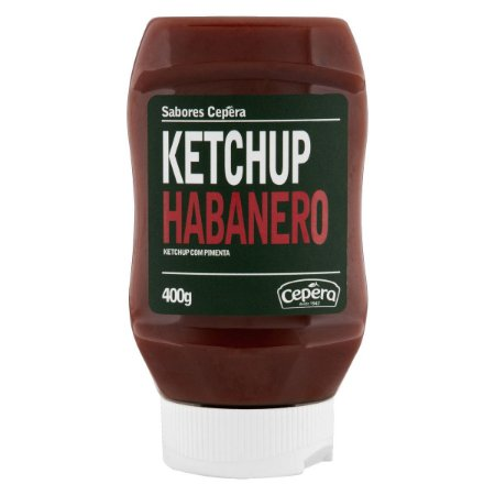 Ketchup Habanero Sabores Cepêra 400g