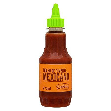 Molho de Pimenta Mexicano Sabores Cepêra 270ml