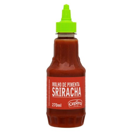 Molho de Pimenta Sriracha Sabores Cepêra 270ml