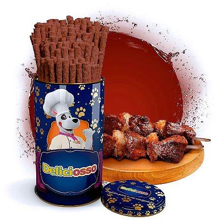 Osso Deliciosso sabor Churrasco - Palito Fino para Cães - 410g