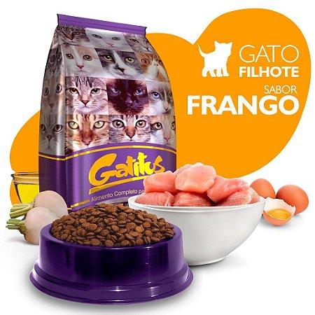 Alimento High Premium Completo Gatitus - Filhote - Frango - Cada unidade = 1kg