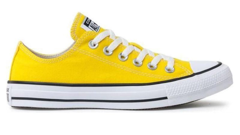 Tênis Converse All Star Ct As Core OX Amarelo Ct0010006