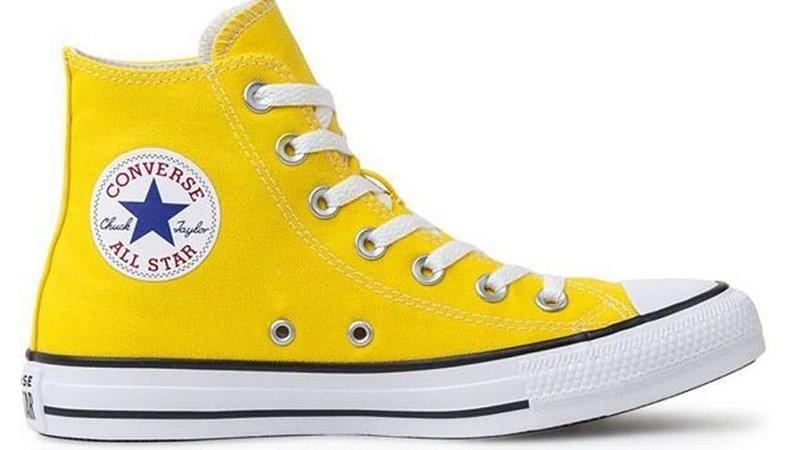 Tênis Converse All Star Ct As Core HI Amarelo Ct00120006