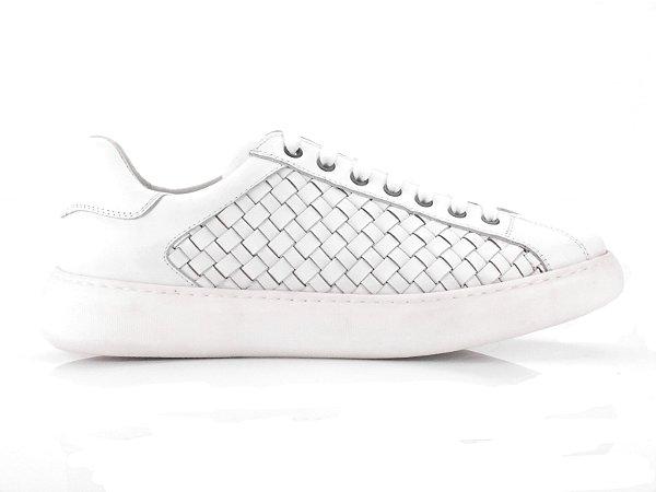 Tênis Sneaker Teselli Parizi WhiteTrissê EF43