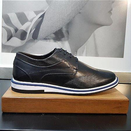 Sapato Derby Teselli Tricae Preto 7003