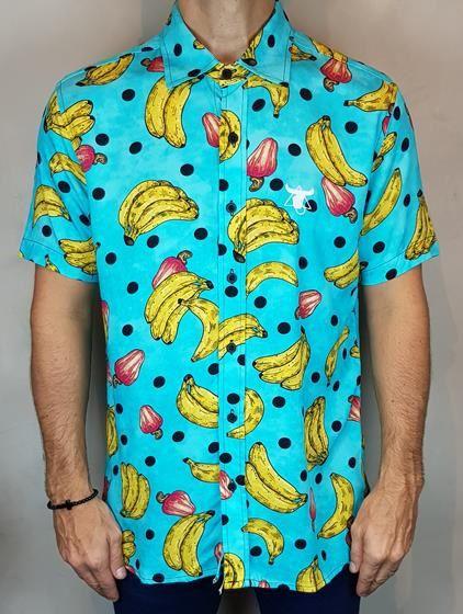 Camisa Estampada Teselli by Totanka Banana