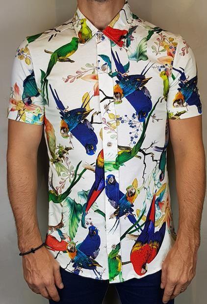 Camisa Estampada Teselli by M-Art Arara
