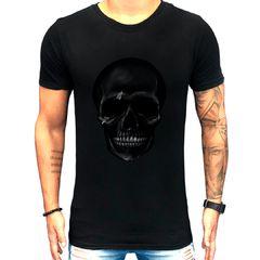 Camiseta Teselli by Paradise Caveira Preto
