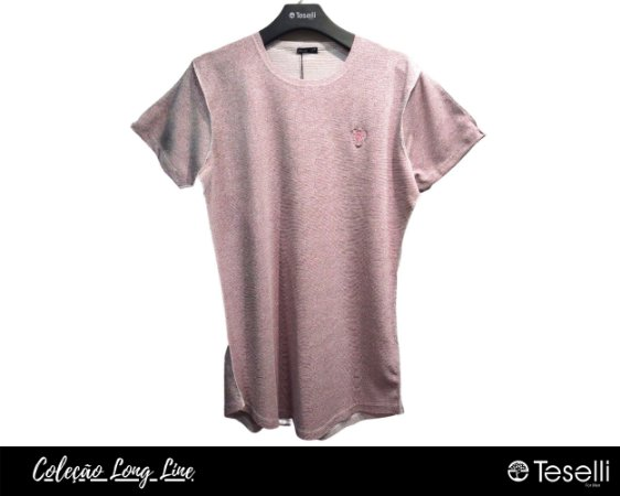 Camisa Long Line Totanka Sean Rosê Premium
