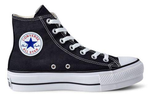 Tênis Converse Chuck Taylor All Star Plataform Hi Ct04940001