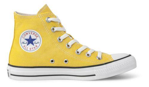 Tênis Converse Chuck Taylor All Star Hi Amarelo Ct04190034