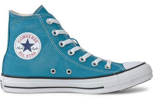 Tênis Converse Chuck Taylor All Star Hi Azul Ct04190036