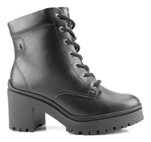 Bota Coturno Ramarim Ankle Boot Preto 2050103