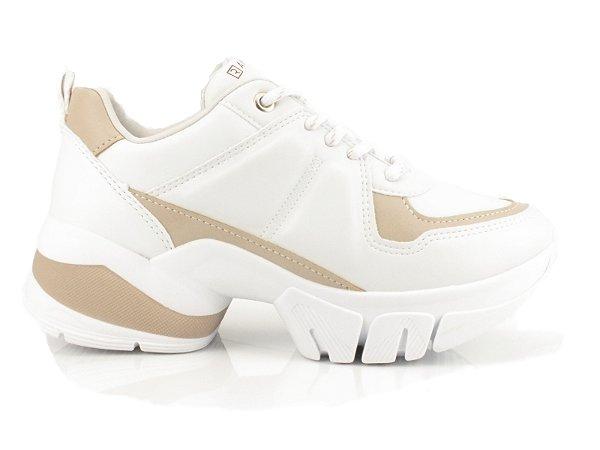 Tênis Ramarim Sneaker  Feminino Branco/Ocre  2080206