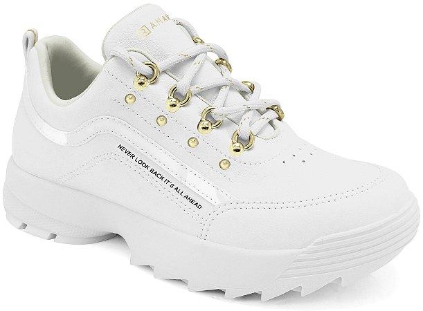 Tênis Ramarim Sneaker  Feminino Branco 2175101