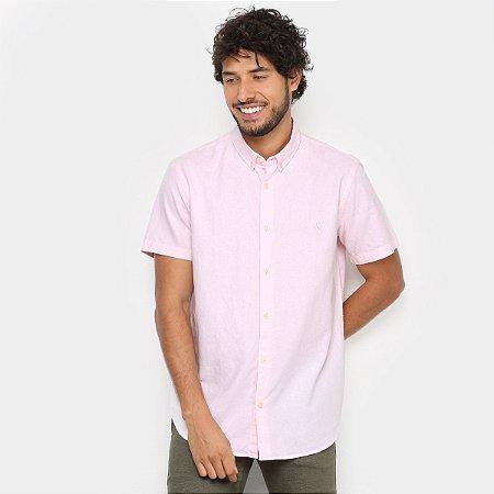 Camisa MF Reserva Oxford Color Rosa 46782