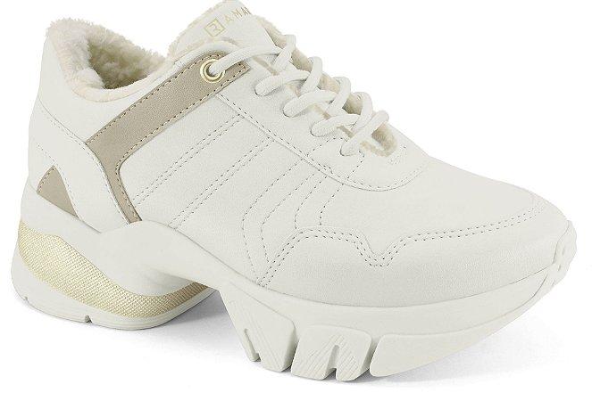 Tênis Ramarim Sneaker Be New Feminino Bege 2180106