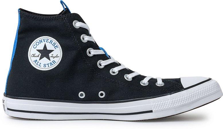 Tênis Converse Chuck Taylor All Star HI Preto Premium CT15640001