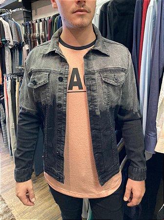 Jaqueta Austin Jeans Black Premium Degradê 15258