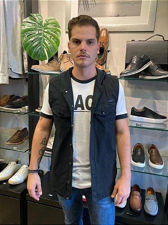 Colete Austin Black Jeans C/ Capuz 16404