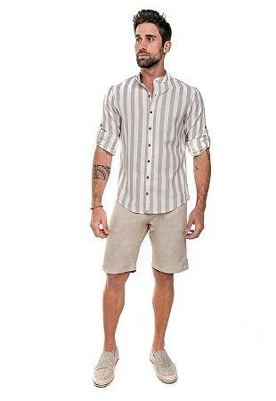 Camisa Arêdu Nature Linho c/ Elastano Sun Premium