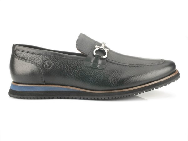 Sapato Loafer Teselli Steve II Floater Preto KSB04