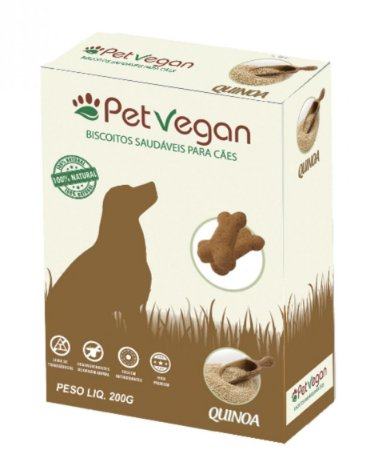 BISCOITO PET VEGAN - QUINOA