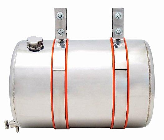 Reservatório Inox 30 LT cilindrico carroceria