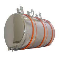 Reservatório Inox 50 LT cilindrico carroceria