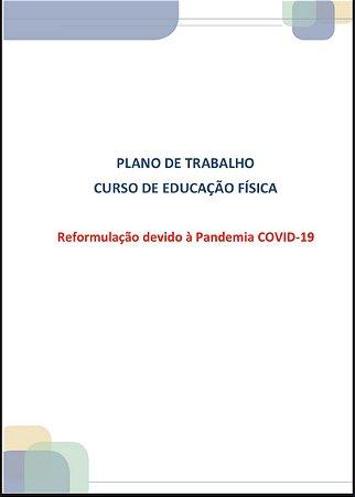 PLANO DE TRABALHO ESTÁGIO CURRICULAR I: INICIAÇÃO E TREINAMENTO DESPORTIVO