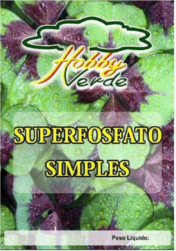 ADUBO SUPERFOSFATO SIMPLES