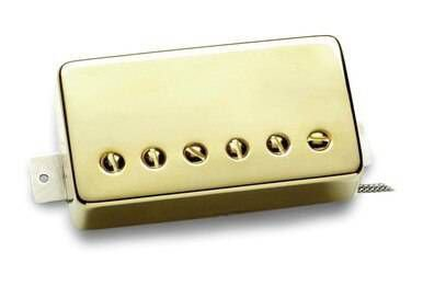 Captador Seymour Duncan Guitarra TB-4 JB Trembucker Dourado