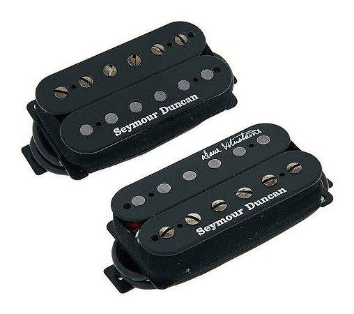 Captadores (Par) Guitarra Dave Mustaine Preto