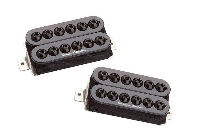 Captadores (Par) Guitarra SH-8s Invader, Preto