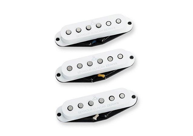 Captadores (Trio) Guitarra ZSL-1S Zephyr, Branco