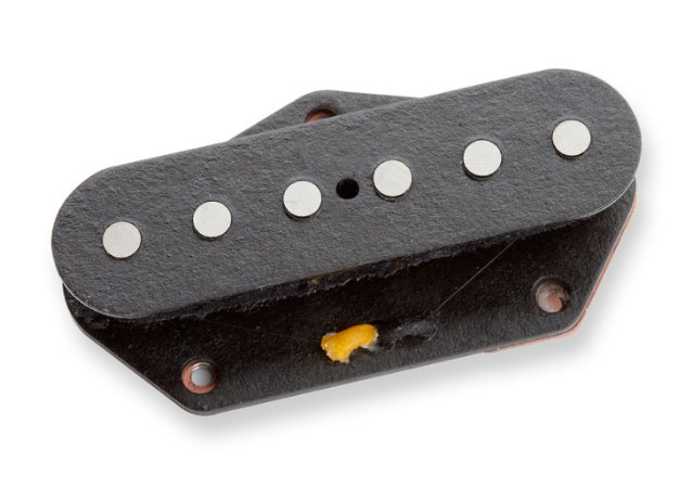 Captador Guitarra Seymour STL52-1 Five-Two Tele Lead, Alnico 5 e 2, Ponte, Preto