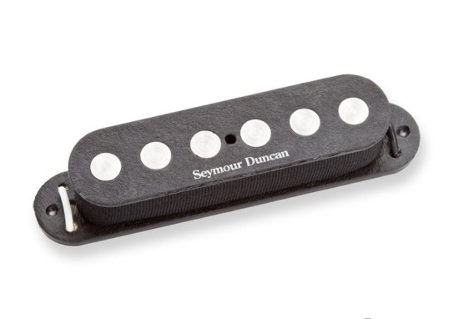Captador Guitarra SSL-4 Quarter-Pound Flat Strat RwRp , Preto