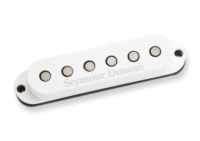 Captador Guitarra SSL-5 Custom Staggered Strato,  Branco