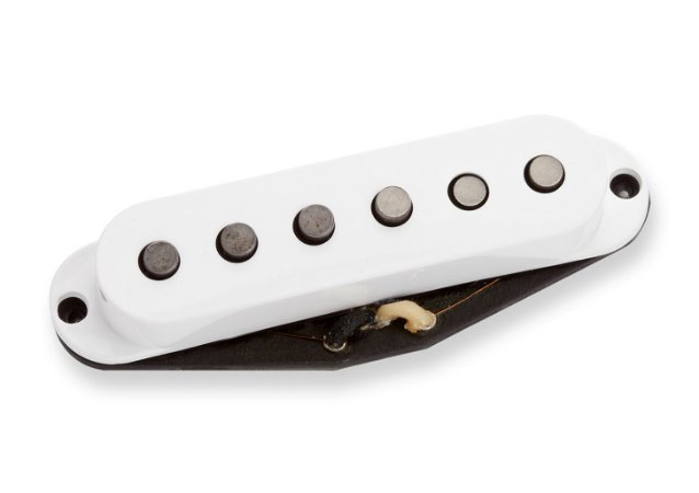 Captador Guitarra SSL52-1m Five-Two Strat Middle RwRp Branco