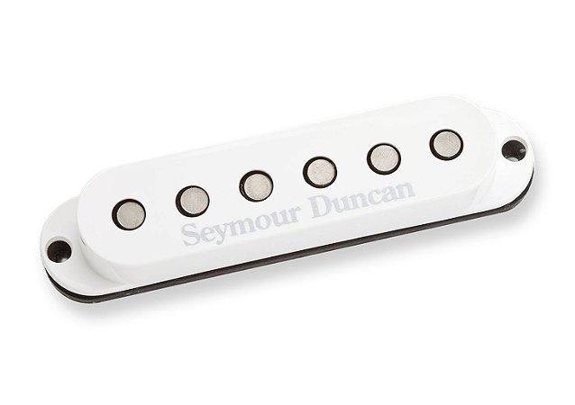 Captador Guitarra SSL-6 Custom Flat Strat RwRp Branco