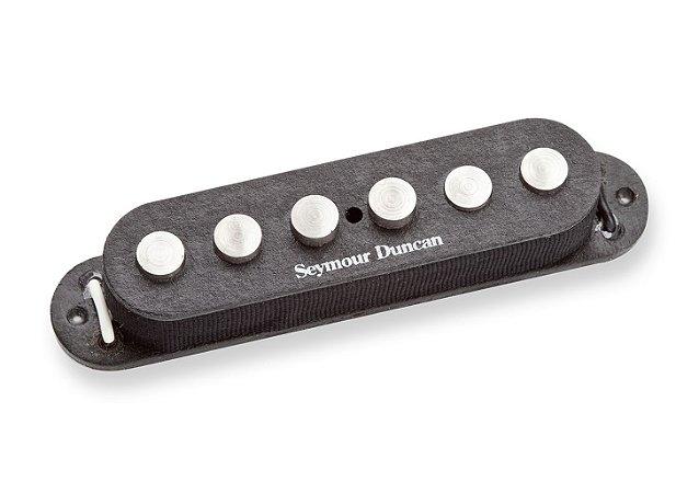 Captador Guitarra SSL-7 Quarter-Pound Staggered Strat, Preto
