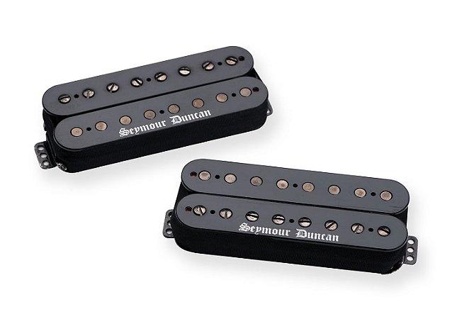 Captadores (Par) Guitarra 8 Cordas Black Winter Humb Set Preto