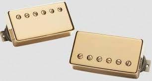 Captadores (Par) Guitarra APH-2S Alnico II Pro Slash Set, Dourado