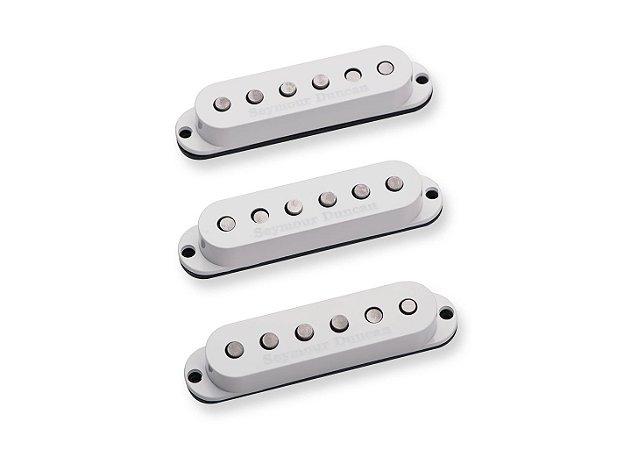 SEYMOUR DUNCAN: Captadores (Trio) Guitarra SSL-5 Custom, Branco