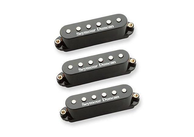 Captadores (Trio) Guitarra STK-S4 Classic Stack P, Preto
